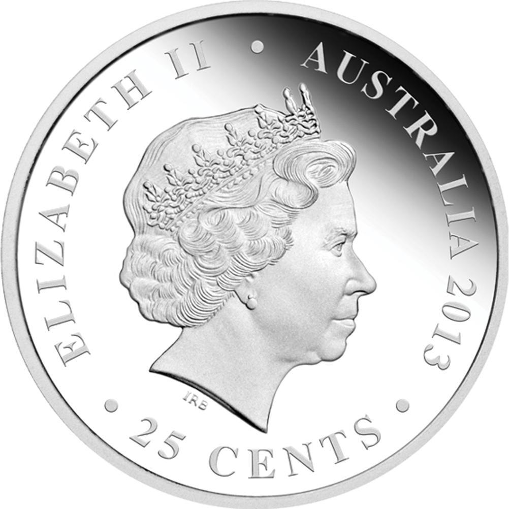 200TH ANNIVERSARY OF THE AUSTRALIAN HOLEY DOLLAR AND DUMP 2013 SILVER PROOF COIN SET - Rub