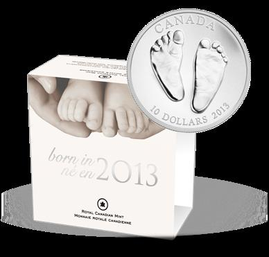 Stříbrná mince 1/2 oz - Welcome to the World (2013) - Líc