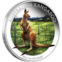 World Money Fair – Berlin Coin Show Special – Australian Kangaroo 2014 - Líc