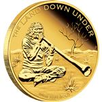 """The Land Down Under - Didgeridoo 2013"" 1/4 oz -  Líc"