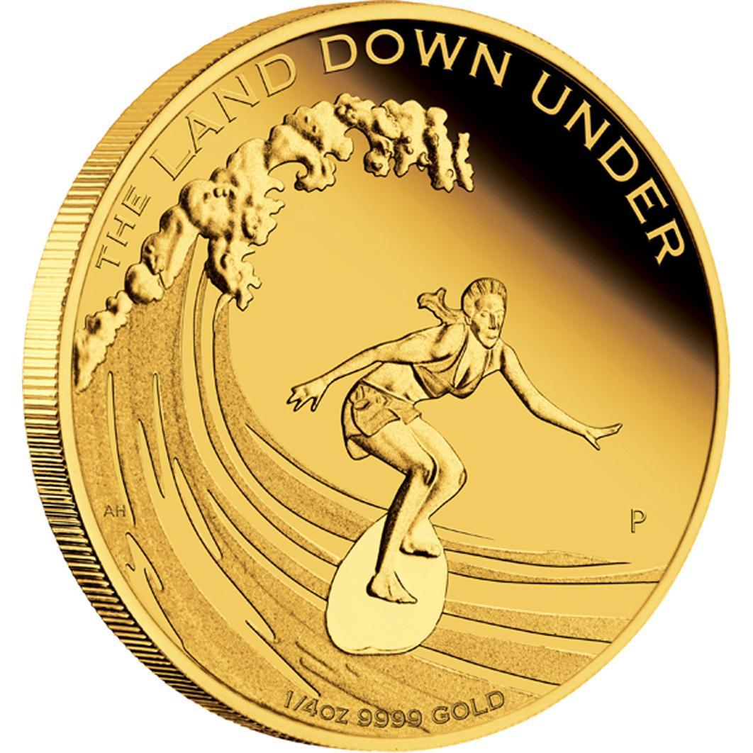 """The Land Down Under - Surfing 2013"" 1/4 oz - Líc"